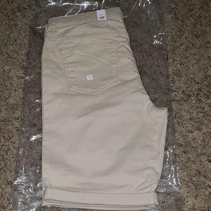 Girl's Khaki Bermuda Shorts